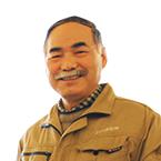 設計部部長 長澤 三男 写真